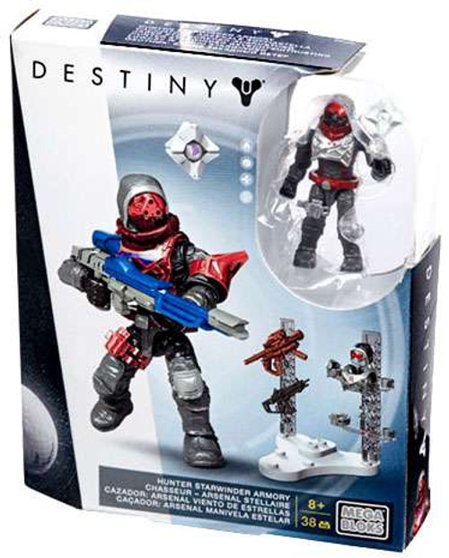 Mega Bloks Destiny Hunter Starwinder Armory Set #31778