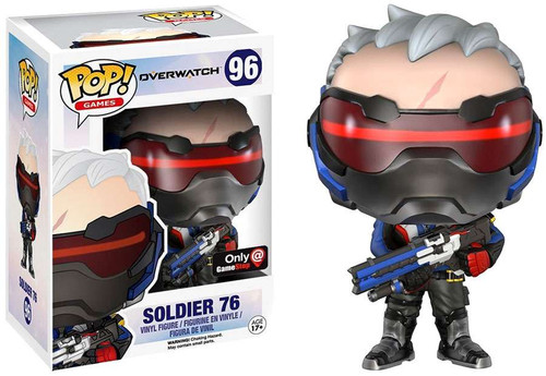 Funko Blizzard Overwatch POP! Games Soldier 76 Exclusive Vinyl Figure #96