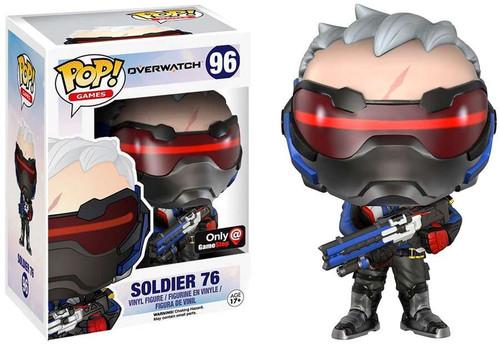 Funko Blizzard Overwatch POP! Games Soldier 76 Exclusive Vinyl Figure #96