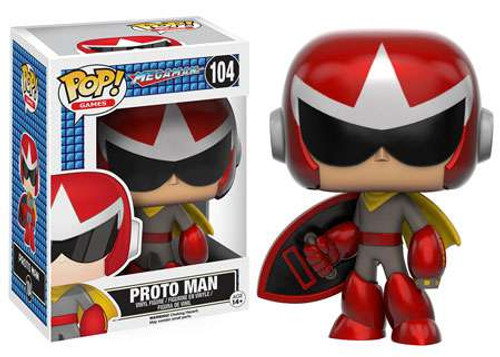 Funko Mega Man POP! Games Proto Man Vinyl Figure #104