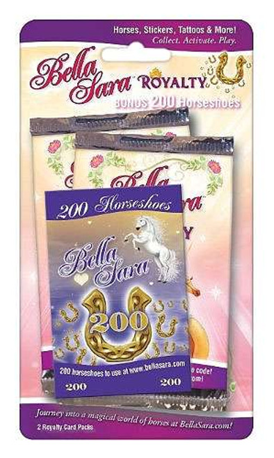 Bella Sara Royalty Booster 2-Pack [Bonus 200 Horseshoes]