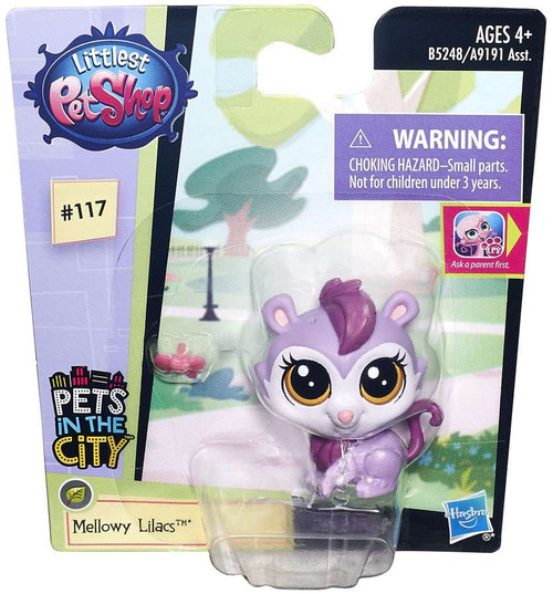 Littlest Pet Shop Pets in the City Mellowy Lilacs