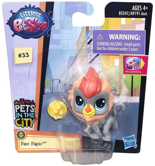 Littlest Pet Shop Pets in the City Pavi Papio