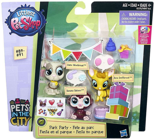 Littlest Pet Shop Pets in the City Park Party