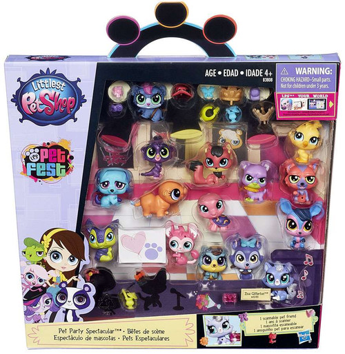 Littlest Pet Shop Pet Fest Pet Party Spectacular Mini Figure 15-Pack