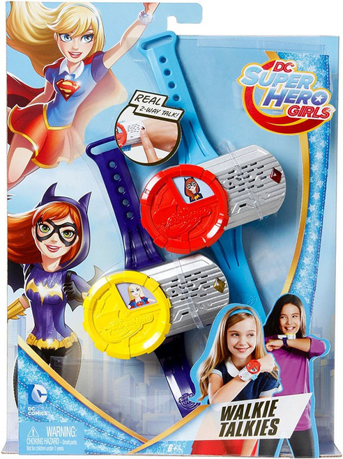 DC Super Hero Girls Walkie Talkies Roleplay Toy