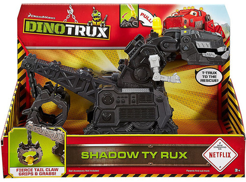 Dinotrux Shadow Ty Rux Deluxe Figure [with Sound]