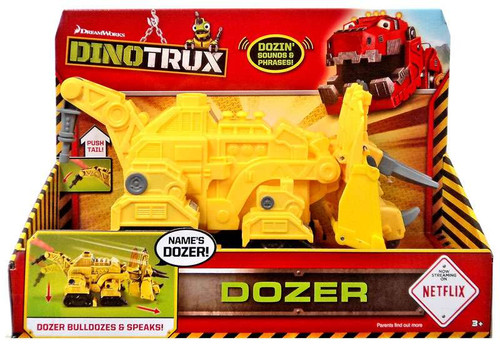 Dinotrux Dozer Deluxe Figure [with Sound]