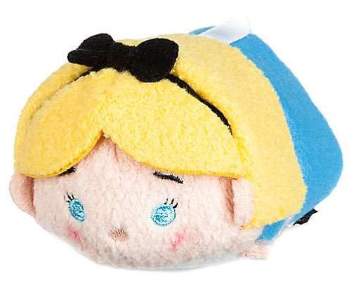 Disney Tsum Tsum Alice in Wonderland Alice 3.5-Inch Mini Plush [Version 2]