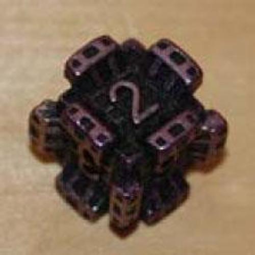 IronDie Purple Fortress Common Single Die #56