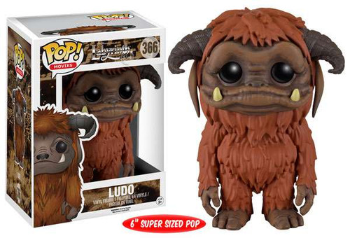 Funko Labyrinth POP! Movies Ludo 6-Inch Vinyl Figure #366 [Super-Sized]