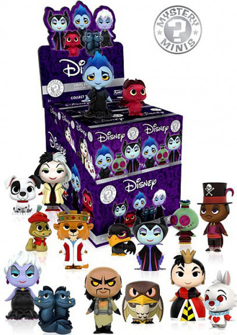 Funko Disney Mystery Minis Villains Mystery Box [12 Packs]