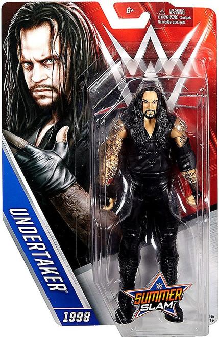 WWE Wrestling Summer Slam Undertaker Action Figure [1998]