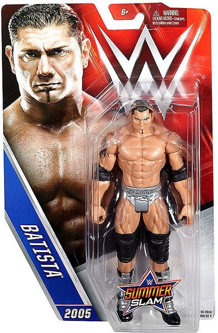 WWE Wrestling Summer Slam Batista Action Figure [2005]