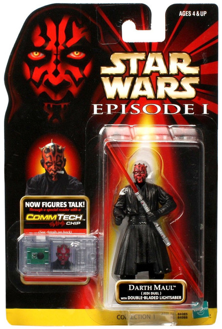 Star Wars Phantom Menace 1999 Episode I Basic Darth Maul Action Figure [Jedi Duel]