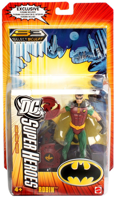 Batman DC Super Heroes Series 3 Robin Action Figure