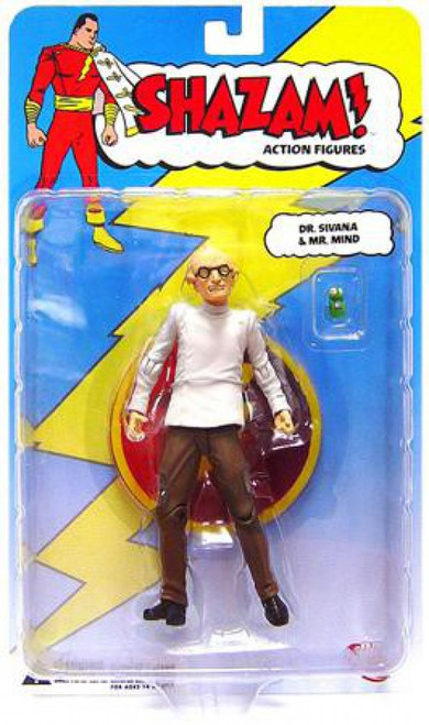 DC Shazam Dr. Sivana with Mr. Mind Action Figure