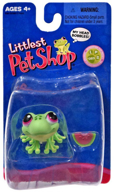 Littlest Pet Shop Frog with Watermelon Exclusive