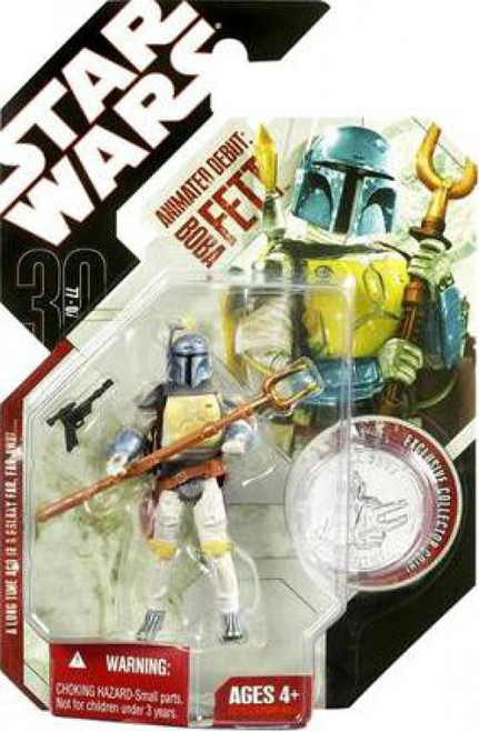 Star Wars Expanded Universe 2007 30th Anniversary Wave 4 Animated Debut Boba Fett Action Figure #24 [1977 Holiday Special]