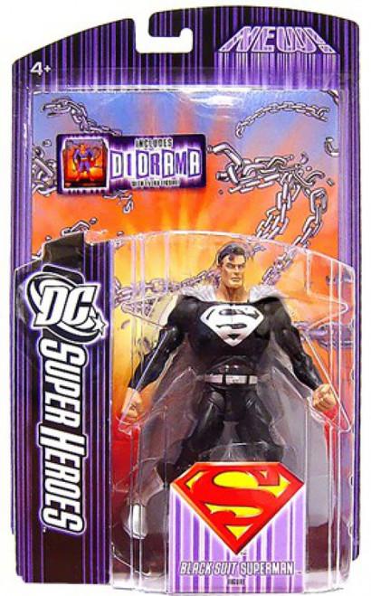 DC Select Sculpt Series Black Suit Superman Action Figure