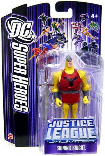 DC Justice League Unlimited Super Heroes Shining Knight Action Figure [Purple Card]