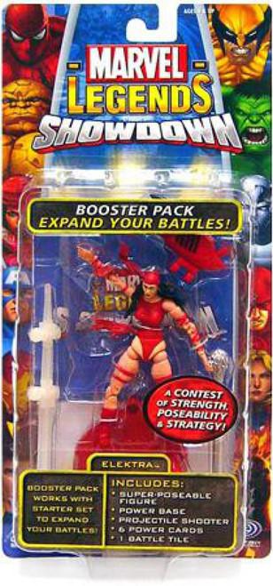 Marvel Legends Superhero Showdown Booster Pack with Elektra Action Figure
