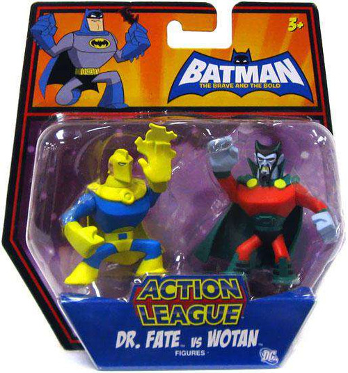Batman The Brave and the Bold Action League Dr. Fate Vs. Wotan Mini Figure 2-Pack