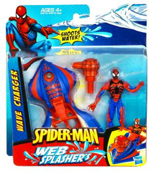 2010 Spider-Man with Wave Charger Action Figure Set