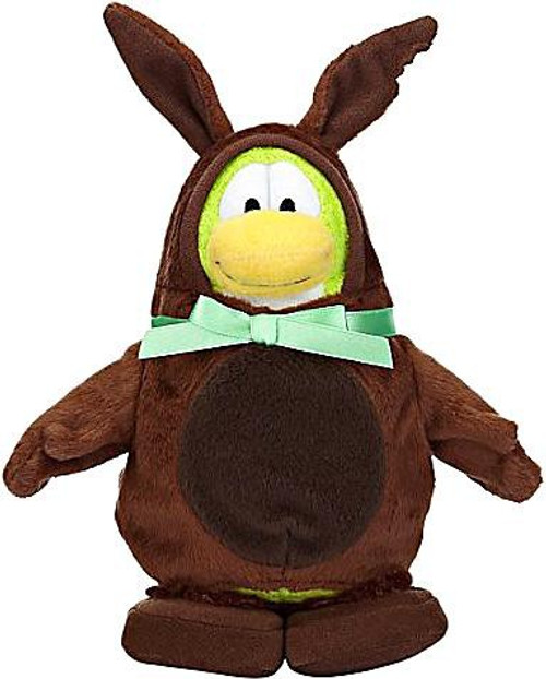 Club Penguin Series 7 Chocolate Easter Bunny 6.5-Inch Plush Figure [Brown]