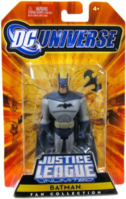 DC Universe Justice League Unlimited Fan Collection Batman Action Figure [Blue & Gray Costume]