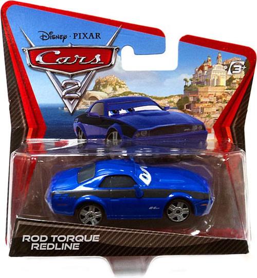 Disney / Pixar Cars Cars 2 Main Series Rod Torque Redline Diecast Car [Checkout Lane]