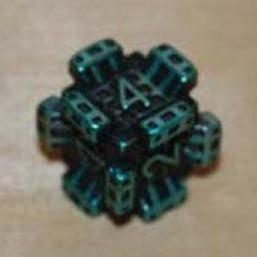 IronDie Blue Fortress Common Single Die #29