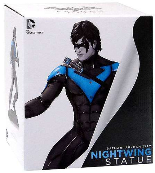 Batman Arkham City Nightwing 9-Inch Statue