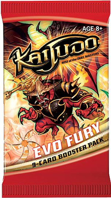 Kaijudo Rise of the Duel Masters Evo Fury Booster Pack [9 Cards]