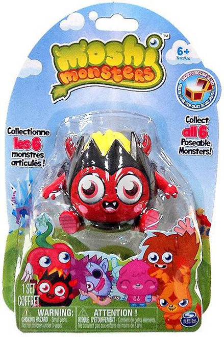 Moshi Monsters Diavlo 3-Inch Figure