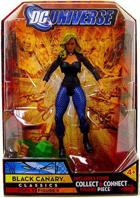 DC Universe Classics Chemo Series Black Canary Action Figure #6 [Damaged Package]