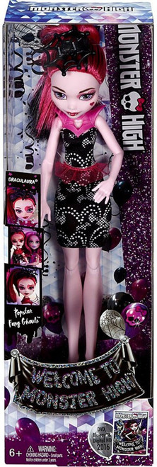 Monster High Popstar Fang Ghouls Draculaura 10.5-Inch Doll