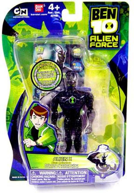 Ben 10 Alien Force Alien Collection Alien X Action Figure [Damaged Package]