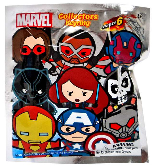 3D Figural Keyring Marvel Series 6 Mystery Pack