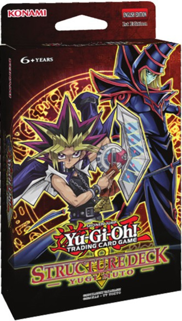 YuGiOh Trading Card Game Yugi Muto Structure Deck
