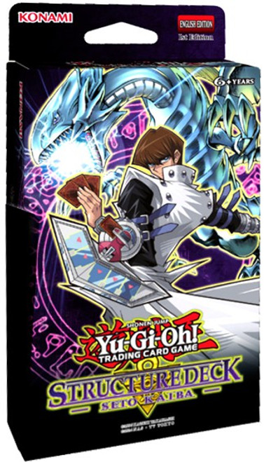 YuGiOh Trading Card Game Seto Kaiba Structure Deck