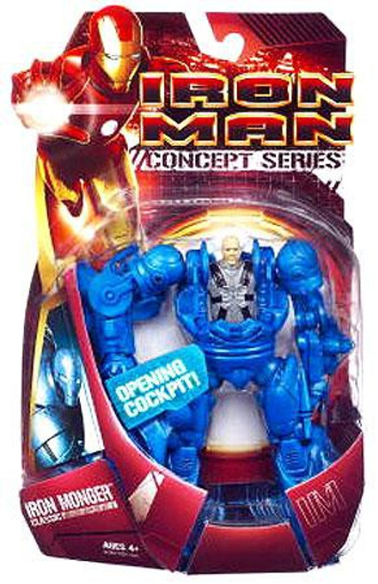 Iron Man Concept Series Classic Iron Monger Action Figure [Damaged Package]