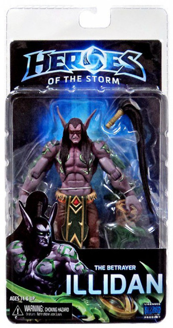 NECA Heroes of the Storm World of Warcraft Series 1 The Betrayer Illidan Action Figure [Illidan Stormrage, Damaged Package]