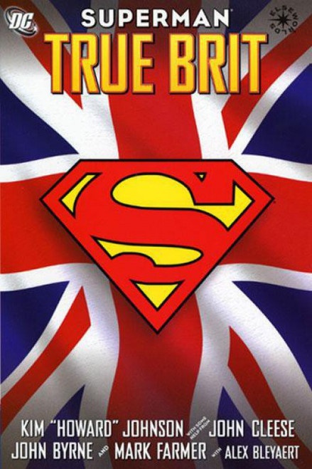 DC Superman True Brit Hardcover