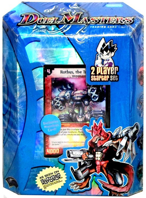 Duel Masters Card Game Base Set 2-Player Starter Deck DM-01