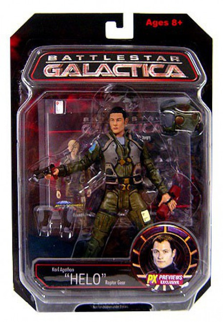 "Battlestar Galactica Series 2 Karl ""Helo"" Agathon Action Figure"