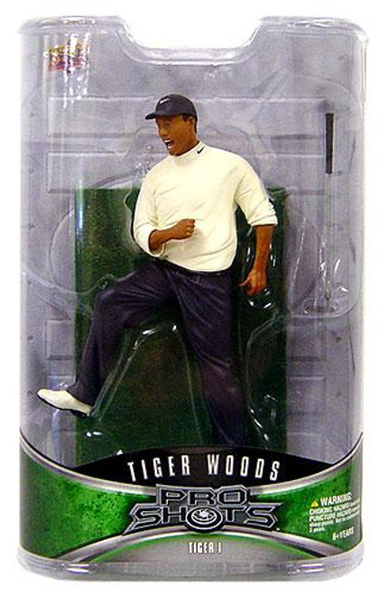 PGA Pro Shots Series 1 Tiger Woods Action Figure #1 [1997 Masters Victory]