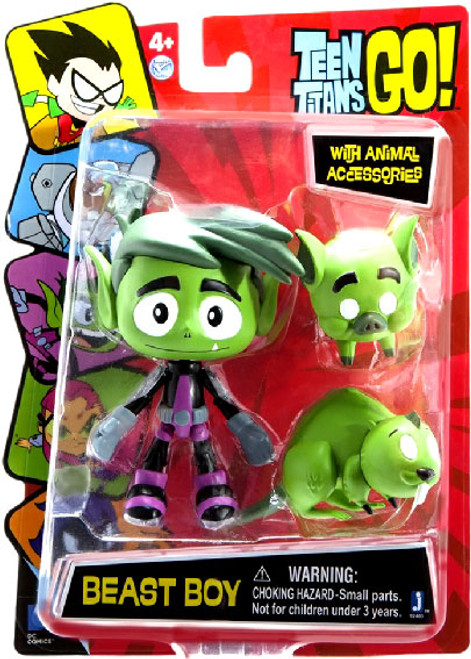 Teen Titans Go! Beast Boy Action Figure [Damaged Package, Mint Figures]