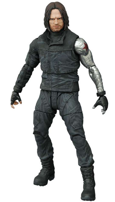 Captain America: Civil War Marvel Select Winter Soldier Action Figure [Civil War]