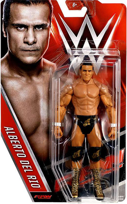 WWE Wrestling Series 63 Alberto Del Rio Action Figure